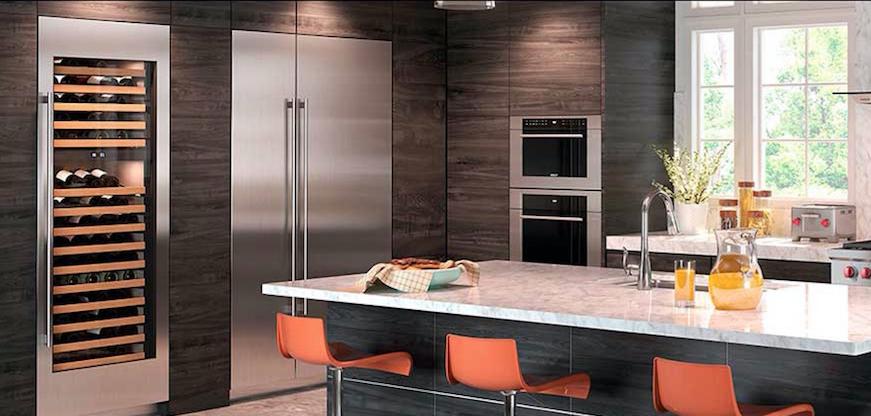 frigorífico Subzero estilo americano