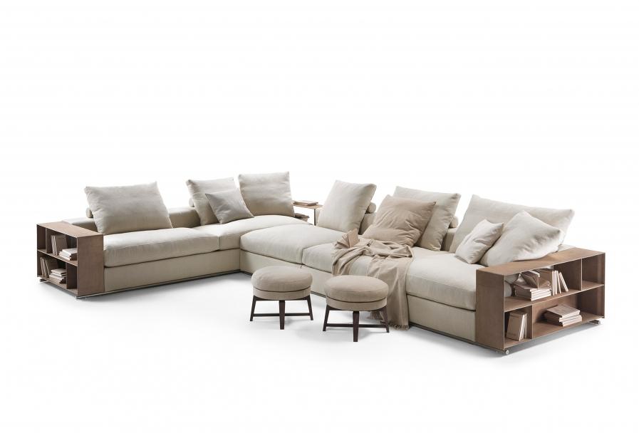 sofa groundpiece diseño flexform