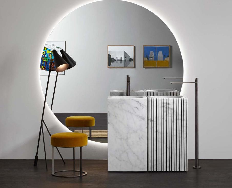 lavabos de diseño Antoniolupi modelo Controverso