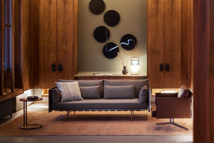 poltrona frau butacas y sillones de diseño en ICONNO Madrid