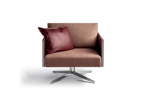 Sillón Clayton de la firma de diseño italiano Poltrona Frau