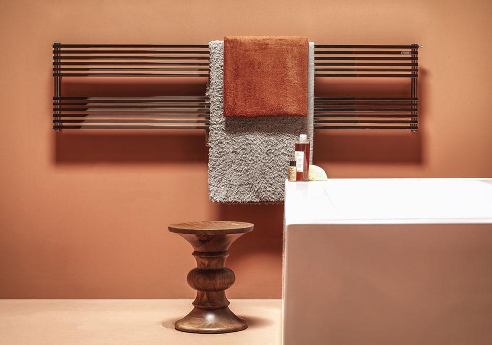 Kubik de Tubes, radiadores en tonos bronce