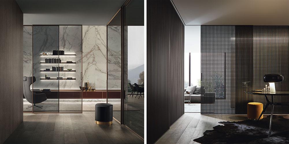 Rimadesio paneles modulares Velaria y Diamon