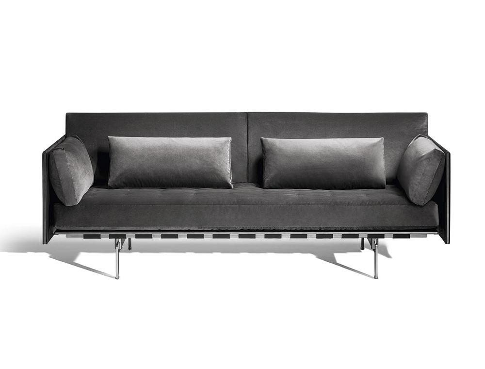 sofá moderno Poltrona Frau Clayton