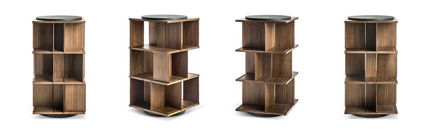Poltrona Frau, La estanteria Turner ganadora del Design Awards 2020 de Wallpaper*