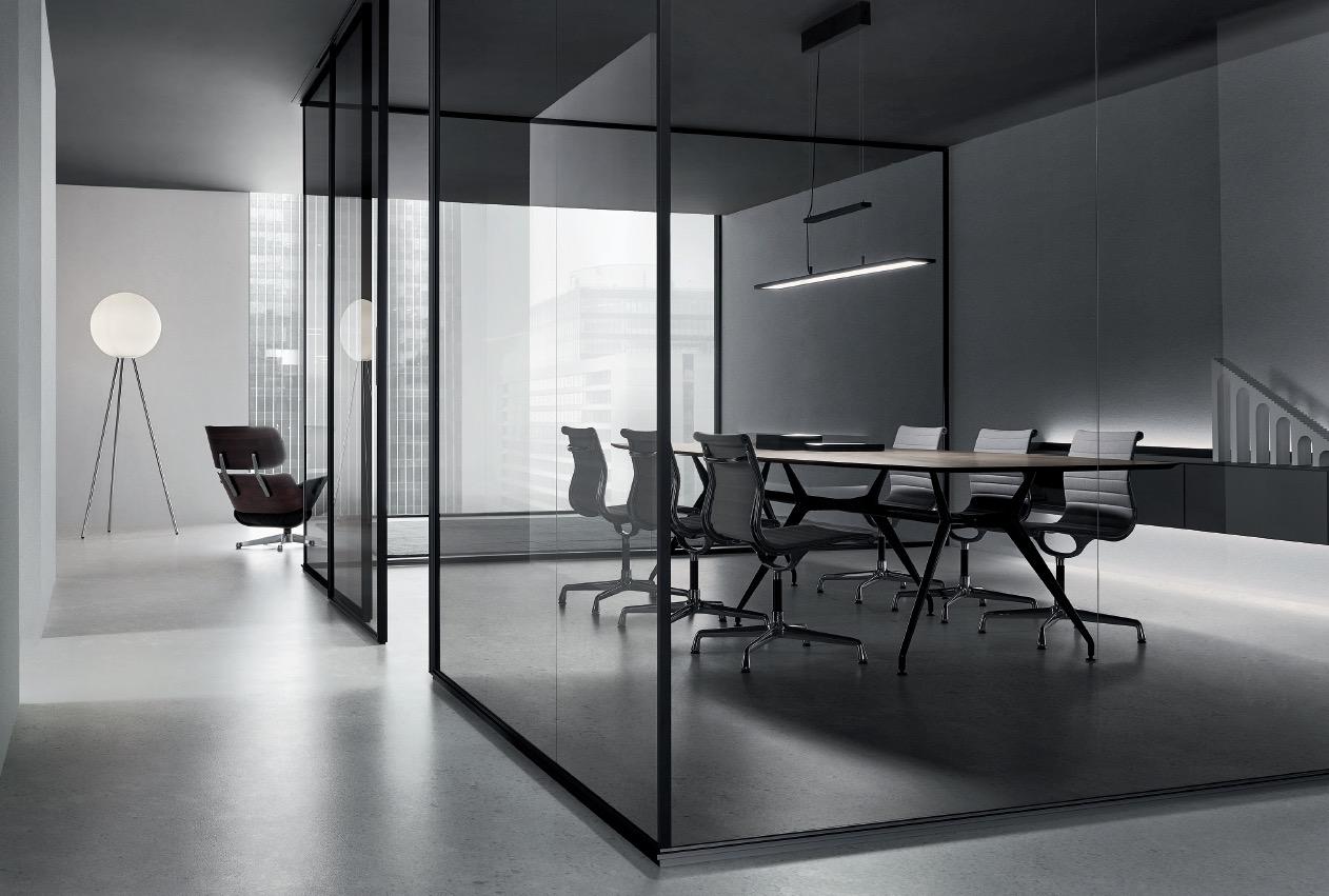 Rimadesio sistema Spazio para oficina