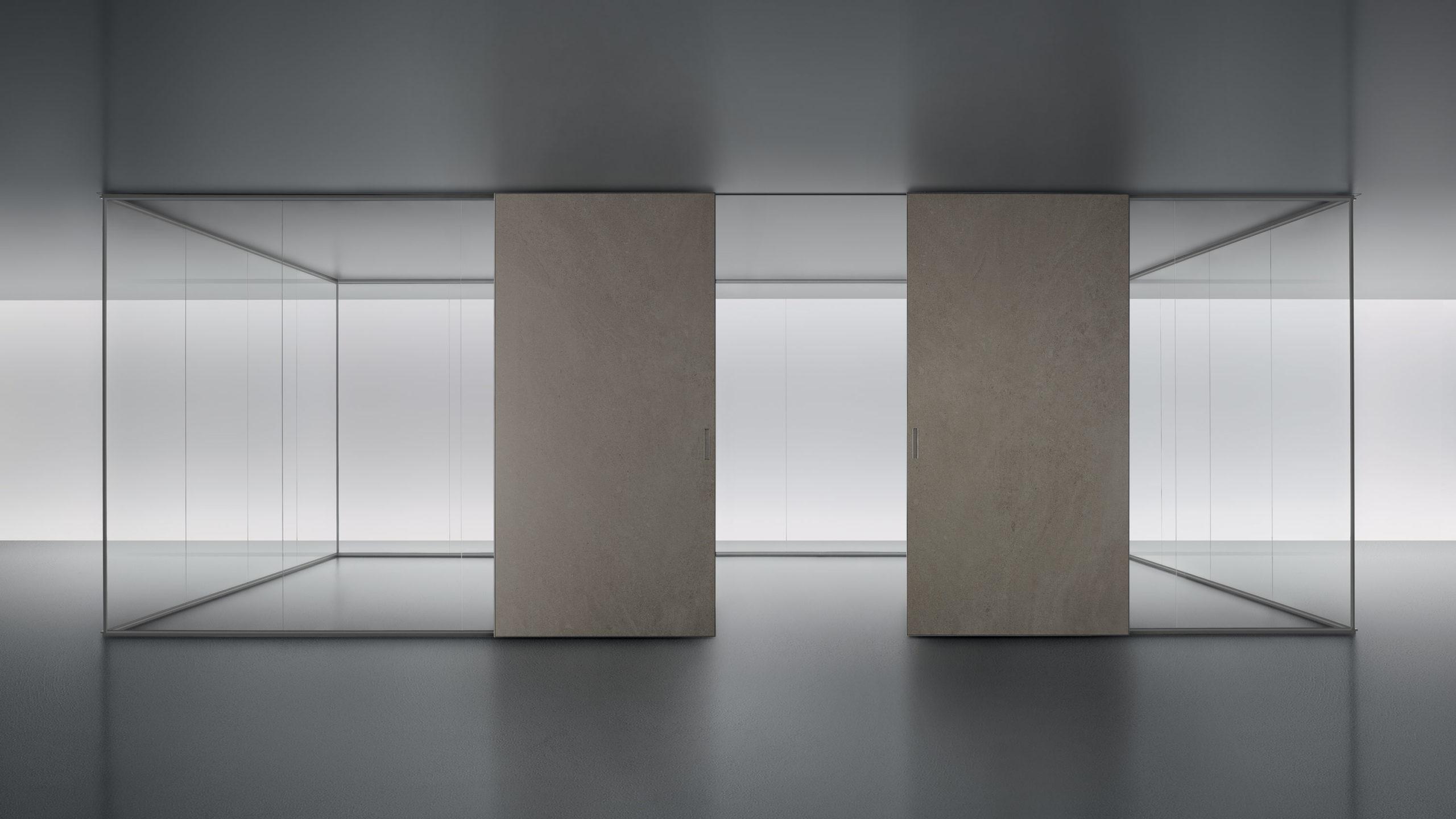 sistema paredes divisor Spazio de Rimadesio Graphis Plus