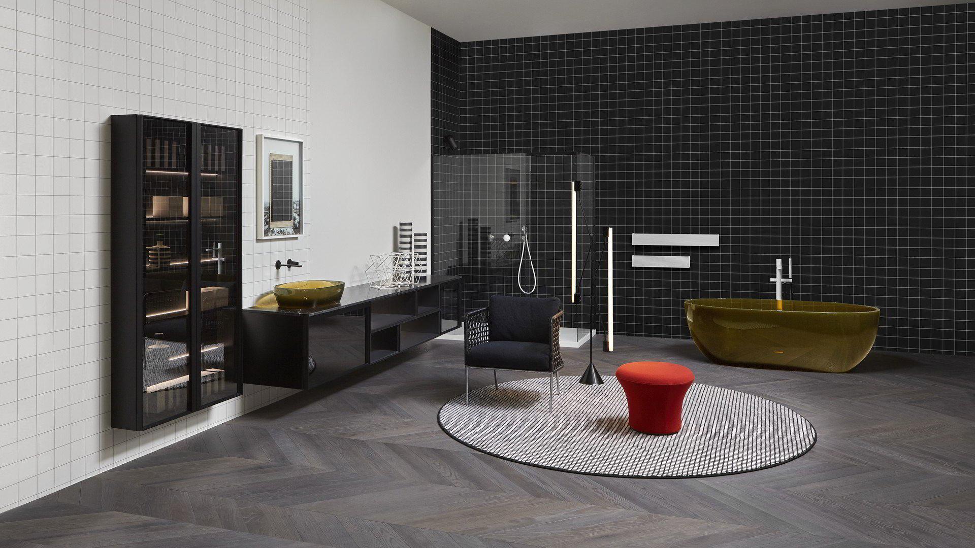 baños de diseño Showroom Antoniolupi en Madrid