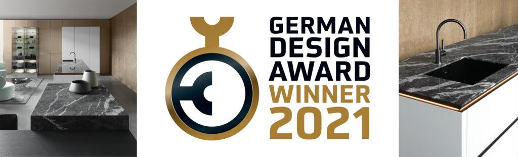 kitchen worktop marble siematic german design award