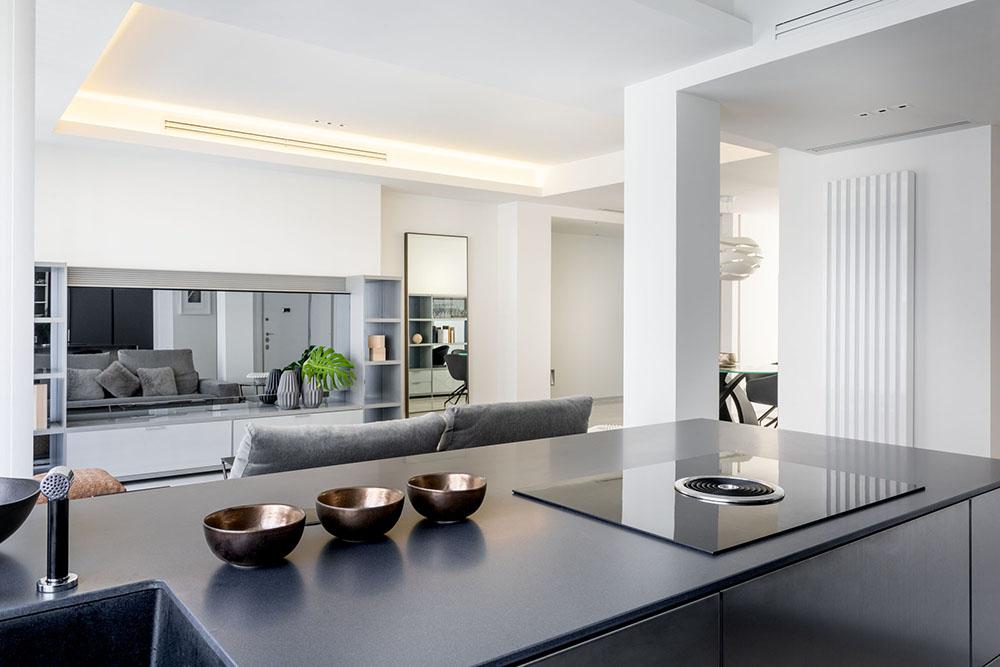 mobiliario diseno cocina isla siematic pure proyecto integral interiorismo odonell