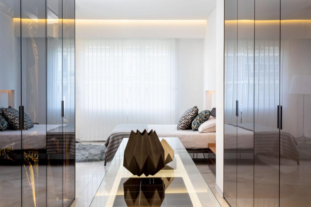 mobiliario diseno rimadesio cover dolmen vestidor proyecto integral interiorismo odonell