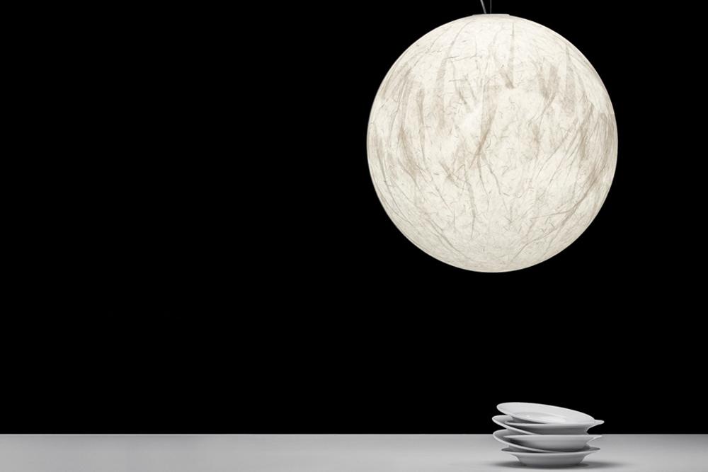 iluminacion decorativa lampara moon davide groppi