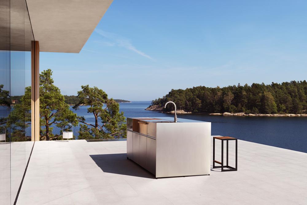 isla de cocina para exterior Roshults