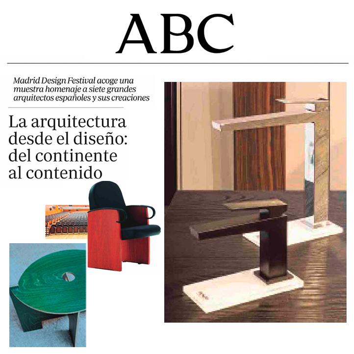 Cosas de arquitectos en ICONNO de Jorge Juan, ABC, marzo