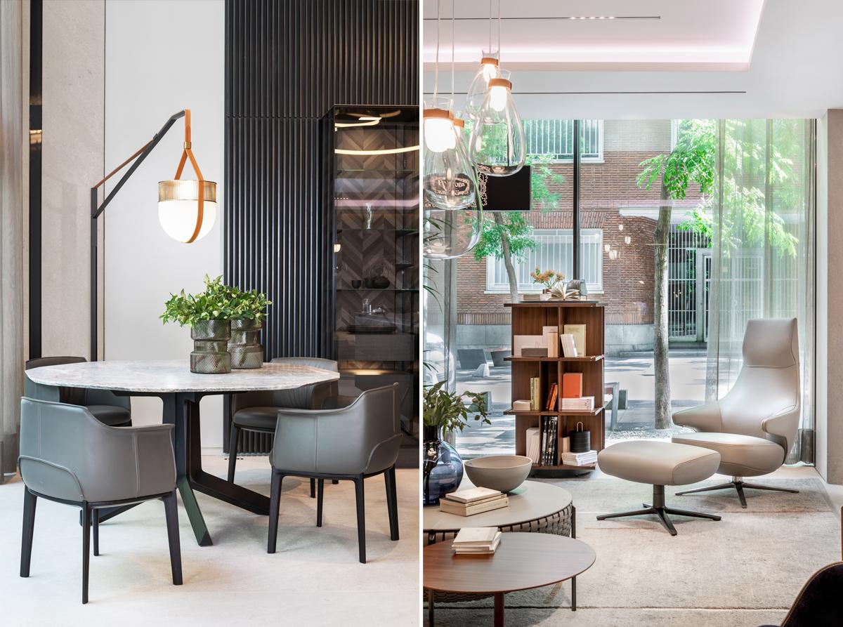 mobiliario de diseño italiano Poltrona Frau