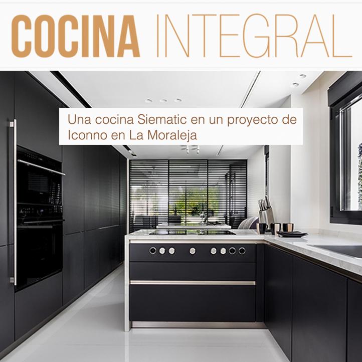 Siematic ICONNO La Moraleja en Cocina Integral, junio