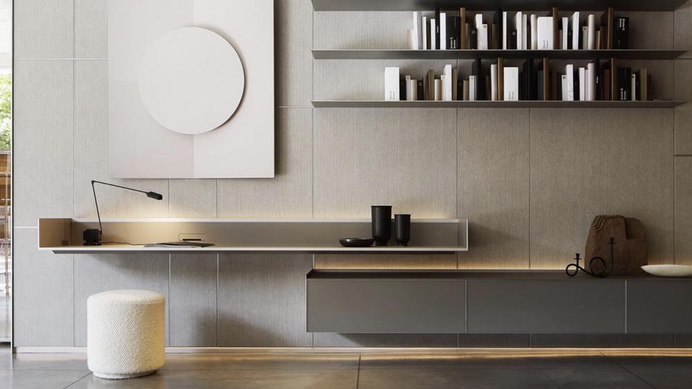 Rimadesio, Self Plan y Modulo. Muebles diseño, ICONNO, Milan