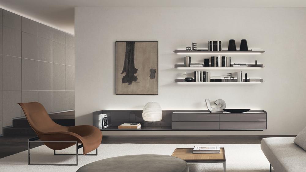 Rimadesio, Self Plan. Muebles diseño, ICONNO Milan Design Week