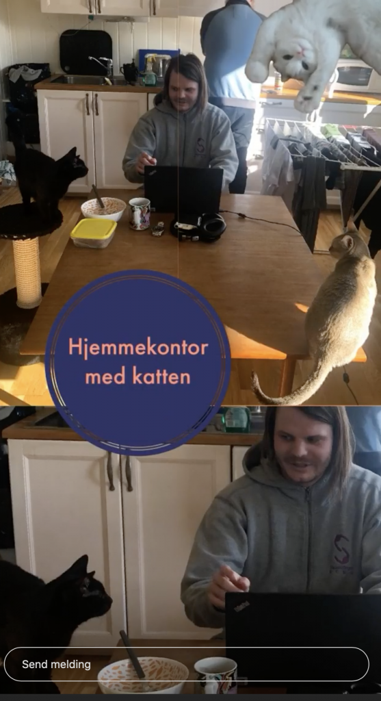 hjemmekontor slo kommune instagram Ida Karoline Thomsen
