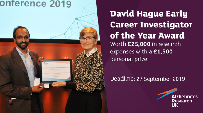 David Hague Early Career Investigator of the Year Award