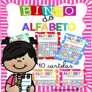 Bingo do Alfabeto | Atividade de Alfabetização e Letramento