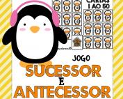 sucessor e antecessor atividade de alfabetização matemática ideiasepalavras.com.br