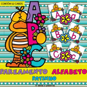Pareamento Alfabeto Patinho | 52 cartas para Educação Infantil