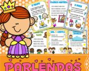 Jogo Pedagógico | Parlendas Ilustradas | Atividade de Alfabetização e Letramento | ideiasepalavras.com.br | 62 986047350