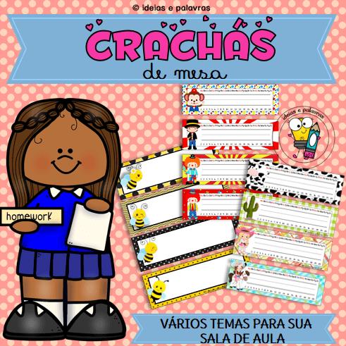 CRACHÁS DE MESA