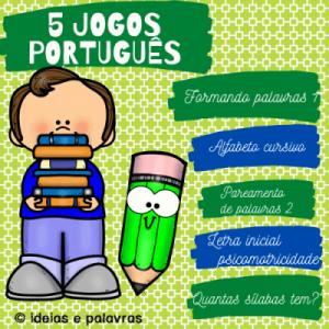 Pacote 2 Português | Atividade de Alfabetização e Letramento