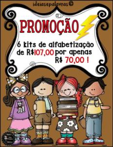 Pacote 6 Atividades de Alfabetização e Letramento   Português