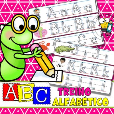 ABC Treino Alfabético | Jogo Pedagógico | Alfabetização e Letramento