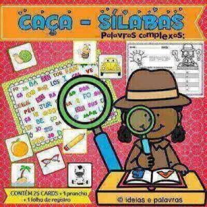 Caça-Sílabas Palavras Complexas | Educação Infantil
