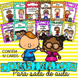 Combinados para sala de aula | Educação Infantil
