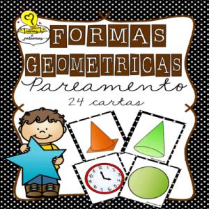 Jogo Pedagógico Formas Geométricas