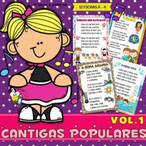 Hora da Leitura Cantigas Populares | Atividade de Alfabetização