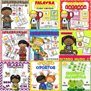 Pacotão 12 Jogos Pedagógicos Português