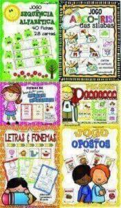 Pacote 4 Português   6 Atividades de Alfabetização e Letramento