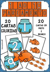 pareamento números peixe