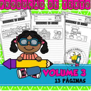 Apostila de Produção de Texto vol.03 | Ensino Fundamental