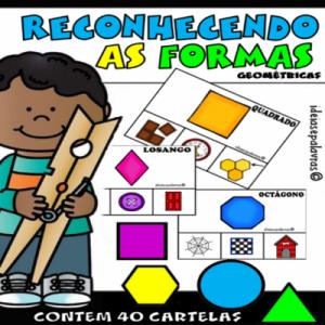 reconhecendo as formas | Atividade de alfabetização