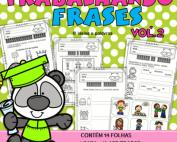 Apostila Trabalhando Frases vol.2 | Educação Infantil