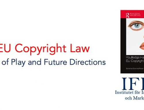 """IFIM conference """"EU Copyright Law: State of Play and Future Directions"""""""
