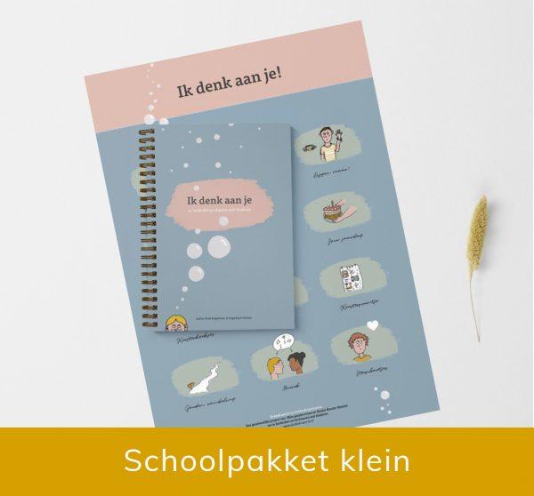 schoolpakket klein ik denk aan je