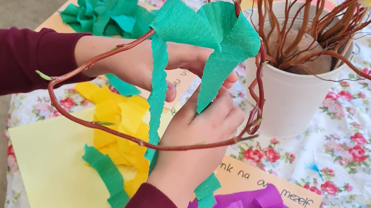 blog ik denk aan je paastak lente ritueel kinderen