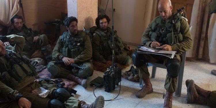 IDF - Israel Defence Forces.