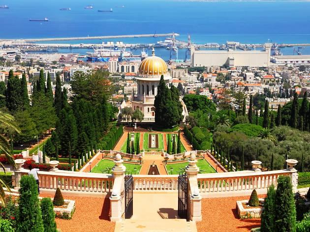 Havnebyen Haifa.