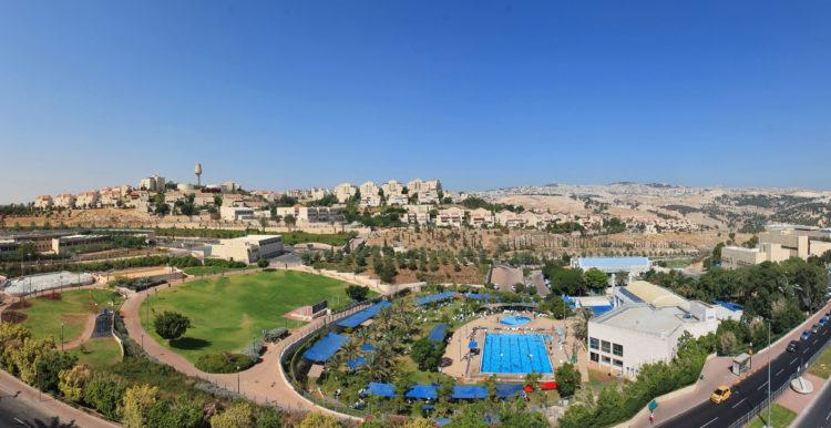 Den israelske boestningen Ma'ale Adumim, på veien fra Jerusalem til Dødehavet.