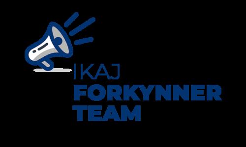 IKAJ forkynner team_LOGO BLÅ