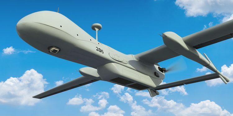 WASP montert på dronen Heron UAV.